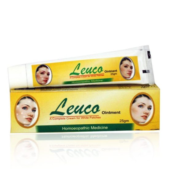 Hahnemann Pharma Leuco Ointment for Leucoderma, Vitiligo, White Skin Patches