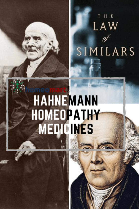 Dr.Hahnemann Homeopathy medicines