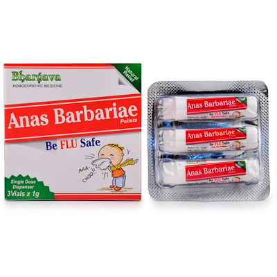 Bhargava Anas Barbariae Pills for Flu