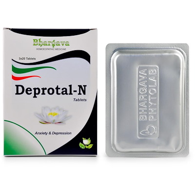 Bhargava Deprotal - N Tablets for Stress and Anxiety