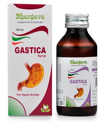 Bhargava Gastica Syrup for Hyperacidity