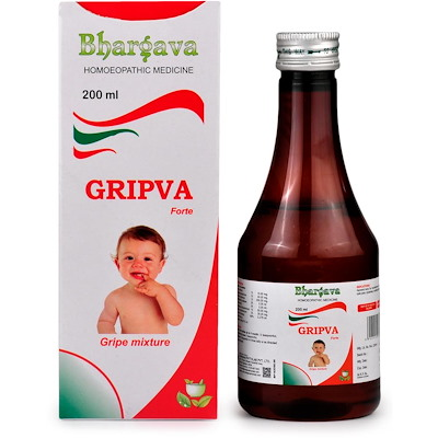Bhargava Gripva forte Syrup - Gripe Mixture