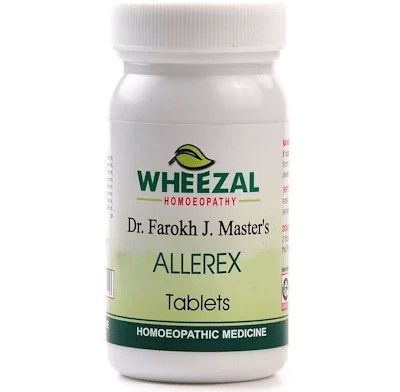 Dr Farokh J M Allerex Tablets for Nasal Allergy, Rhinitis