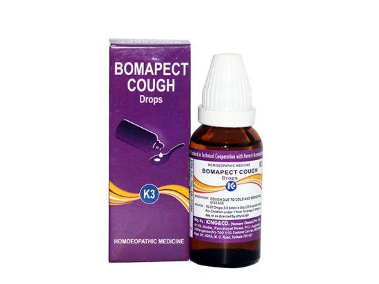 Homeopathy medicine for cough, bronchial disease, Bomapect Cough K3 Drops
