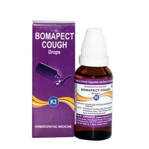 Homeopathy medicine for cough, bronchial disease, Bomapect Cough K3 Drops