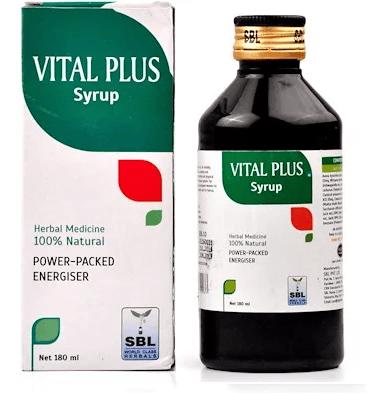 SBL Vital Plus Syrup-Herbal Rejuvenator with Ginseng