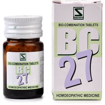 Schwabe Biocombination BC27 Tablets for Lack of Vitality, Debility