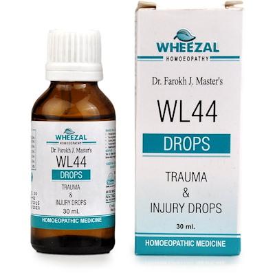 Wheezal WL44 Trauma And Injury Drops
