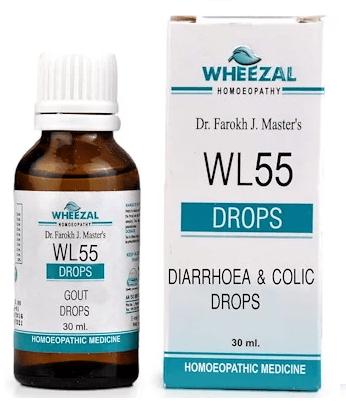 Wheezal WL55 Diarrhoea & Colic Drops