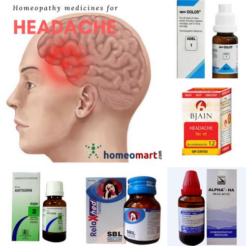 top homeopathy medicines for headache migraine