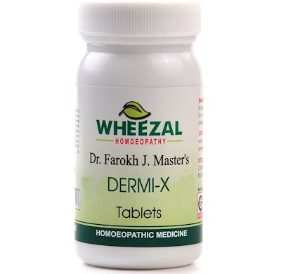 Wheezal Dr Farokh J M Dermi-X Tablets for Skin Ailments
