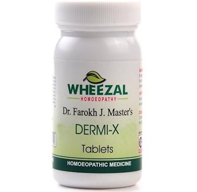 Wheezal Dr Farokh J M Dermi-X Tablets for Skin Ailments