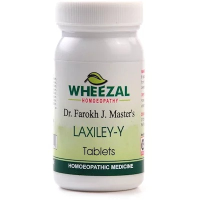 Wheezal Dr Farokh J M Laxiley Y Tablets for Constipation