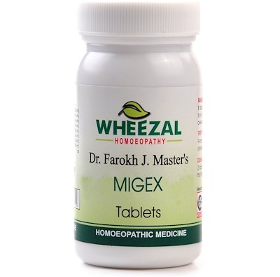 Wheezal Migex Tablets for Migraine