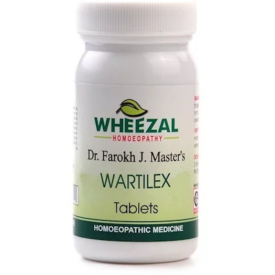Wheezal Wartilex Tablets for Warts and Polyp