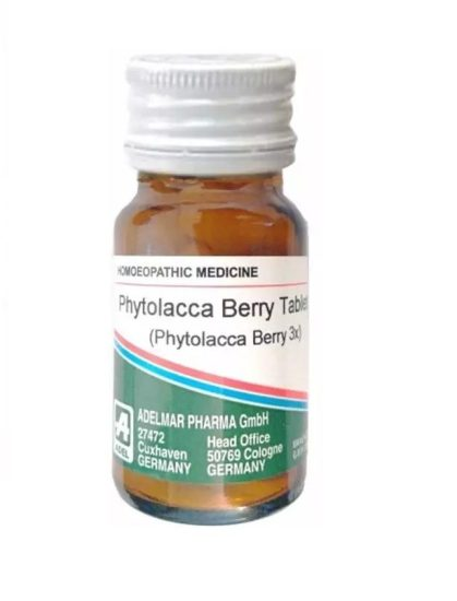 Adel Phytolacca Berry Tablets, Homeopathy Obesity Treatment