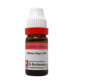 Dr Reckeweg Germany Abies Nigra Homeopathy Dilution 6C, 30C, 200C, 1M, 10M