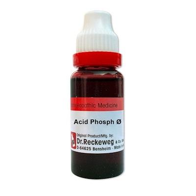 Dr. Reckeweg Acidum Phosphoricum Homeopathy Mother Tincture Q