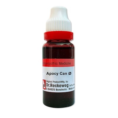 Dr. Reckeweg Apocynum Cannabinum Homeopathy Mother Tincture Q