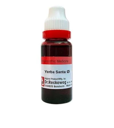 Dr. Reckeweg Yerba Santa (Eriodictyon Glutinosum) Homeopathy Mother Tincture Q