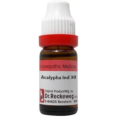 Reckeweg Acalypha Indica Dilution 6C, 30C, 200C, 1M, 10M