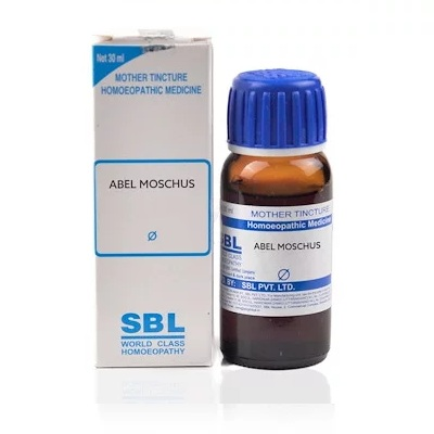 SBL Abel Moschus Homeopathy Mother Tincture Q