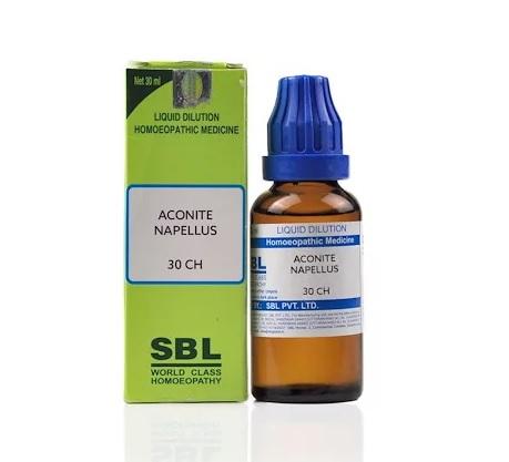 SBL Aconitum Napellus Dilution 6C, 30C, 200C, 1M, 10M, CM