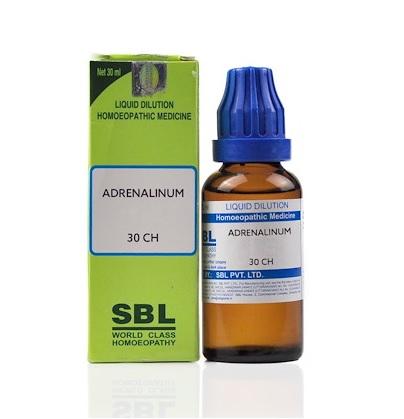 SBL Adrenalium Homeopathy Dilution 6C, 30C, 200C, 1M, 10M, CM