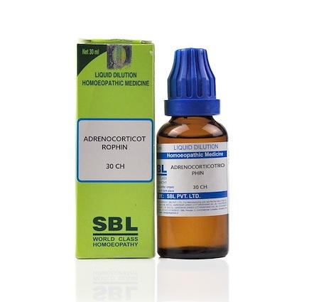 SBL Adrenocorticotrophin Homeopathy Dilution 6C, 30C, 200C, 1M, 10M, CM