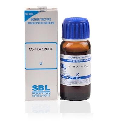SBL Coffea Cruda Homeopathy Mother Tincture Q