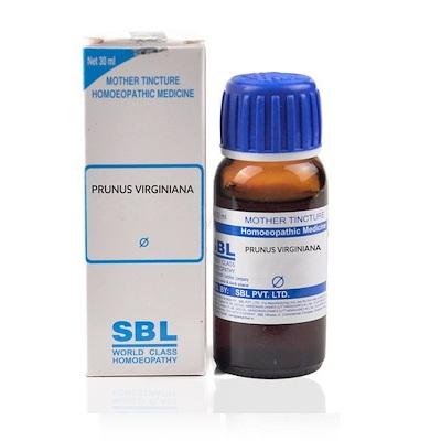 SBL Prunus Virginiana Homeopathy Mother Tincture Q
