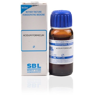 Sbl Acidum Formicum Homeopathy Mother Tincture Q