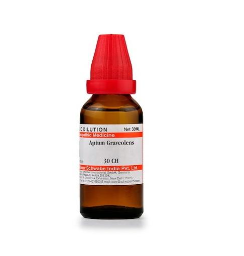 Schwabe Apium Graveolens Homeopathy Dilution 6C, 30C, 200C, 1M, 10M