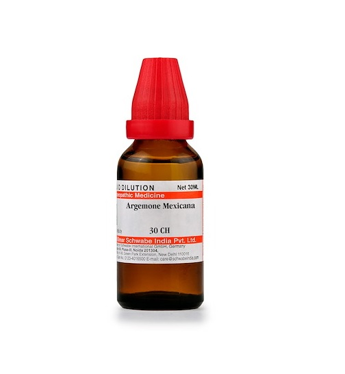 Schwabe Argemone Mexicana Homeopathy Dilution 6C, 30C, 200C, 1M, 10M