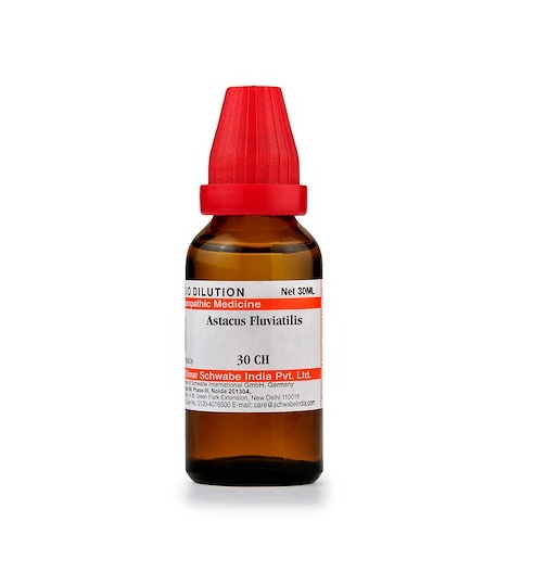 Schwabe Astacus Fluviatilis Homeopathy Dilution 6C, 30C, 200C, 1M, 10M, CM