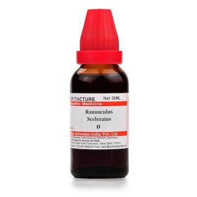 Schwabe Ranunculus Sceleratus Homeopathy Mother Tincture Q