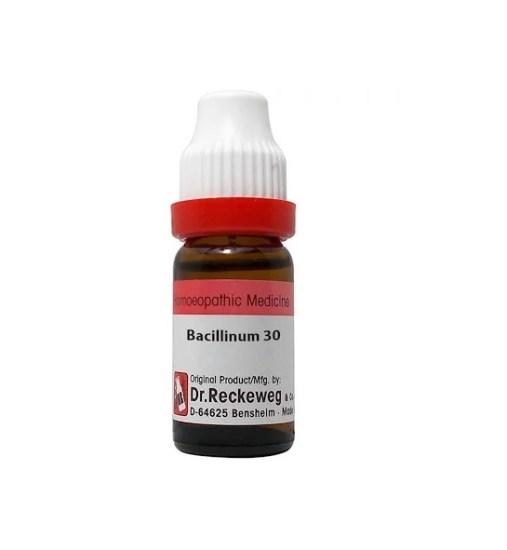Dr Reckeweg Germany Bacillinum Homeopathy Dilution 6C, 30C, 200C, 1M, 10M, CM