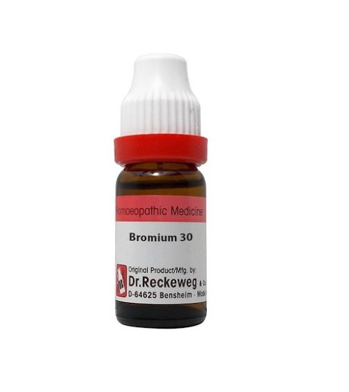 Dr Reckeweg Germany Bromium Homeopathy Dilution 6C, 30C, 200C, 1M, 10M, CM