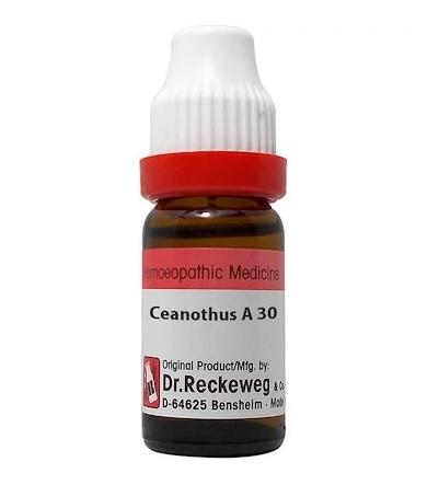 Dr Reckeweg Germany Ceanothus Americanus Homeopathy Dilution 6C, 30C, 200C, 1M, 10M