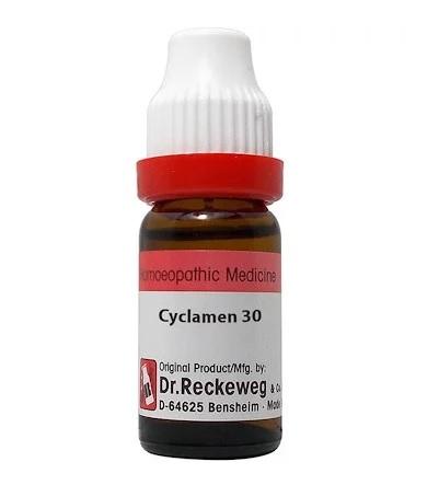 Dr Reckeweg Germany Cyclamen Europaeum Homeopathy Dilution 6C, 30C, 200C, 1M, 10M