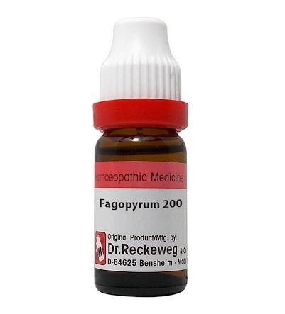Dr Reckeweg Germany Fagopyrum Esculentum Homeopathy Dilution 6C, 30C, 200C, 1M, 10M, CM