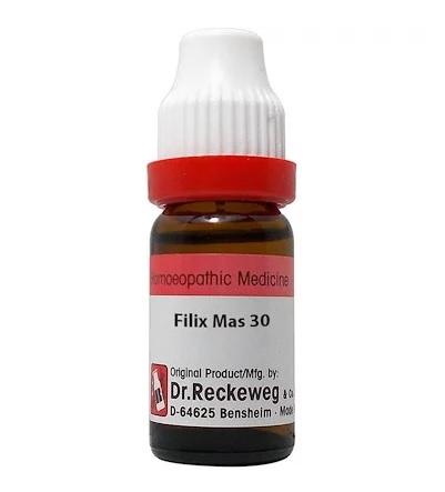 Dr Reckeweg Germany Filix Mas Homeopathy Dilution 6C, 30C, 200C, 1M, 10M, CM