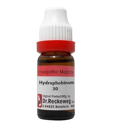 Dr Reckeweg Germany Hydrophobinum Homeopathy Dilution 6C, 30C, 200C, 1M, 10M, CM