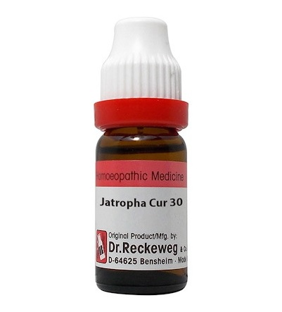 Dr Reckeweg Germany Jatropha Curcas Homeopathy Dilution 6C, 30C, 200C, 1M, 10M, CM