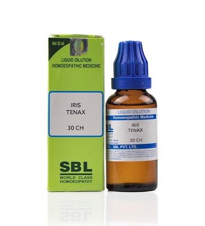 SBL Iris Tenax Homeopathy Dilution 6C, 30C, 200C, 1M, 10M, CM