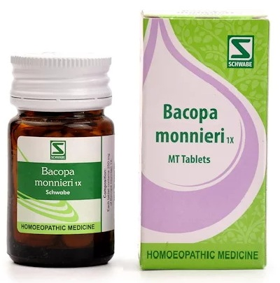 Bacopa Monnieri 1X tablets from Schwabe, Brain, Nervine Tonic for weak memory, anxiety neurosis,Bacopa Monnieri 1X tablets from Schwabe, Brain, Nervine Tonic for weak memory, anxiety neurosis,