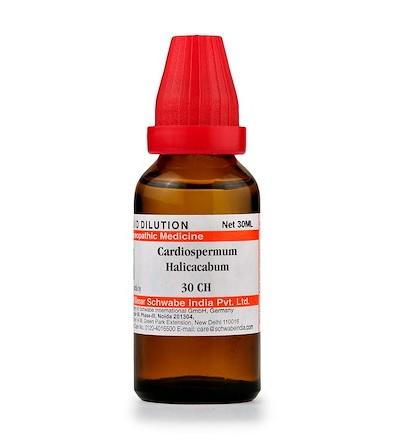 Schwabe Cardiospermum Halicacabum (Cardiospermum) Homeopathy Dilution 6C, 30C, 200C, 1M, 10M