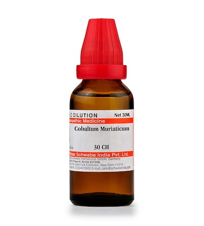 Schwabe Cobaltum Muriaticum Homeopathy Dilution 6C, 30C, 200C, 1M, 10M