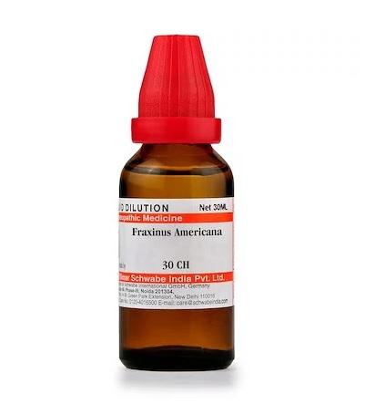 Schwabe Fraxinus Americana Homeopathy Dilution 6C, 30C, 200C, 1M, 10M, CM