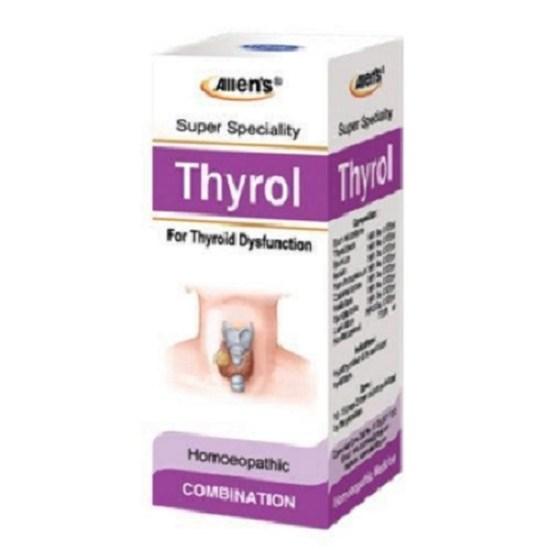 Allen Homeopathy Thyrol Drops for Thyroid Dysfunction, 30ml
